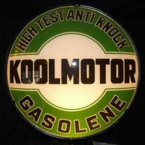 "15"" Cities Service Koolmotor Globe"