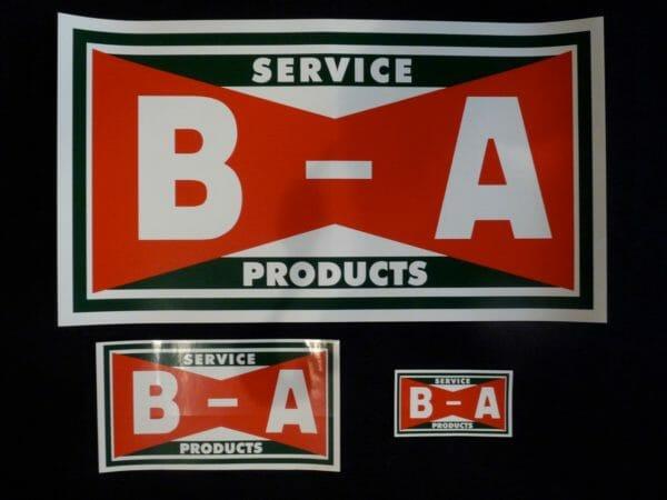 B/A Bowtie Decals