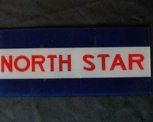 North Star Ad Glass