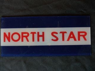 North Star Ad Glass